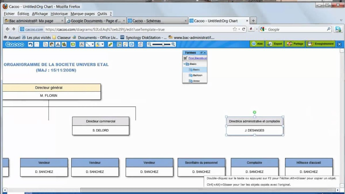 Comment faire un organigramme sur open office - Comment faire un organigramme sur open office ...
